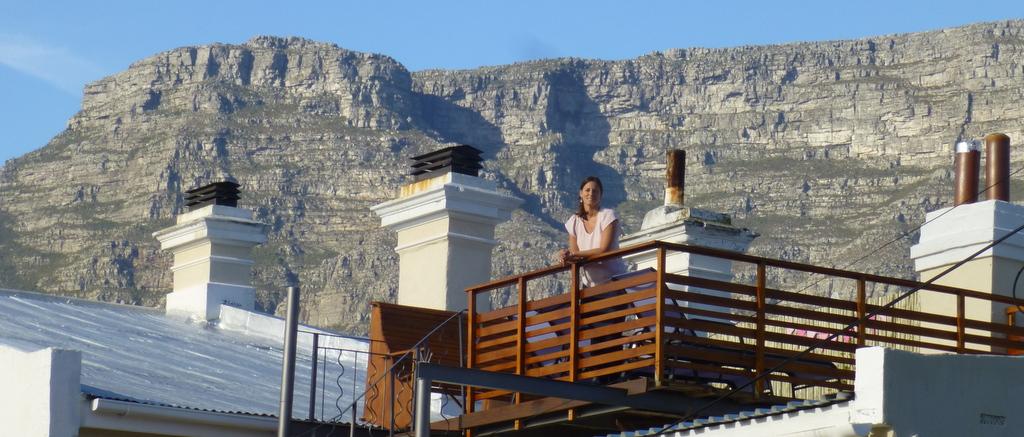 Takterassen på Villa Cape Adventures